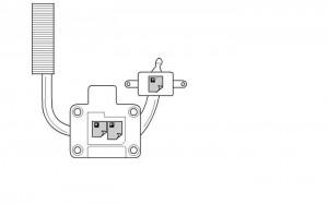 removal lenovo z560 / z565 cpu cooling fan step 4